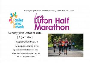 Luton Half Marathon 2016 @ Luton town center