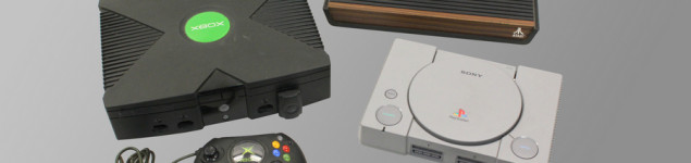Vintage Video Game Consoles