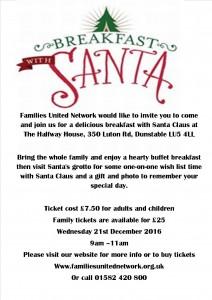 FUNs Breakfast with Santa @ The Halfway House | Dunstable | England | United Kingdom