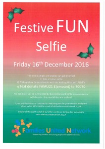 Festive FUN Selfie - Text Donate Campaign