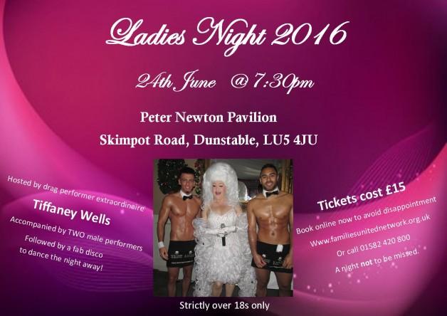 ladies night 2016 poster