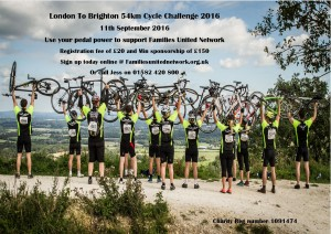 London to Brighton 54 km Cycle Challenge @ Clapham Common, Windmill Drive, London, SW49DE