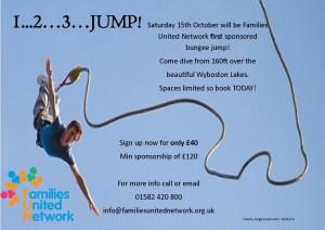 Charity Bungee Jump 2016 @ Wyboston lakes, wyboston, Bedford, MK44 3AL