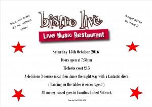 FUNs Bistro live Night @ Bistro Live Milton Keynes | Milton Keynes | England | United Kingdom