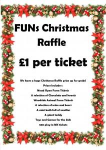 FUNs Christmas Raffle Prize Draw @ Families United Network | Luton | England | United Kingdom