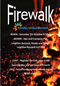 Firewalk for FUN @ The Axe and Compass | Heath and Reach | England | United Kingdom