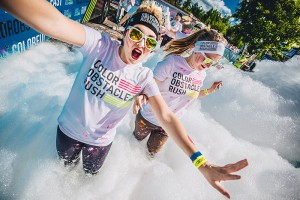 5km Colour Obstacle Rush for FUN @ Willen Lake | England | United Kingdom
