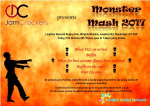 Monster Mash @ Leighton Buzzard Rugby Club | Stanbridge | England | United Kingdom