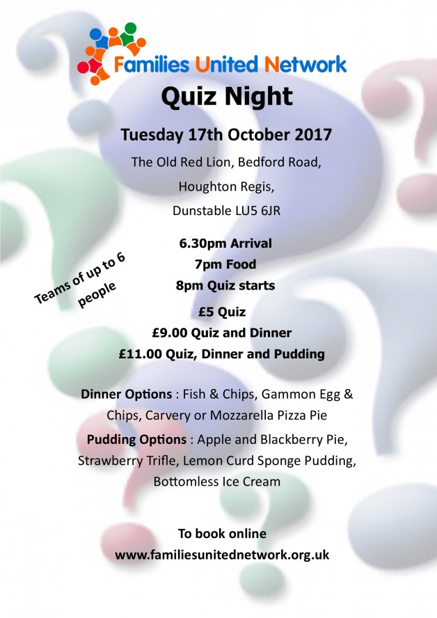 Quiz Night October 17th