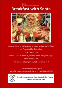 Santa Breakfast @ The Old Red Lion  | Houghton Regis | England | United Kingdom