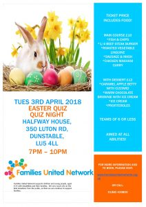 FUNs Easter Quiz Night @ Halfway House | England | United Kingdom