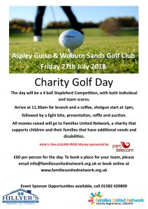 FUN Charity Golf Day 27th July 2018 @ Aspley Guise & Woburn Sands Golf Club | Aspley Guise | England | United Kingdom