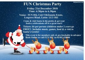 FUN Christmas Party @ Families United Network  | United Kingdom