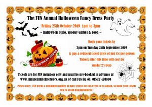 Halloween Party 2019 @ Families United Network | England | United Kingdom