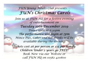FUN's Christmas Carols @ Families United Network
